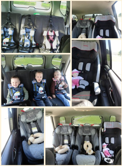 Car Seats Fit 3 Across Narrow Child Restraint