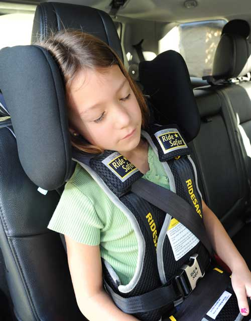 RideSafer travel vest and Cardiff headrest