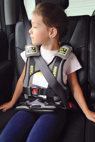 SafeRider car seat vest