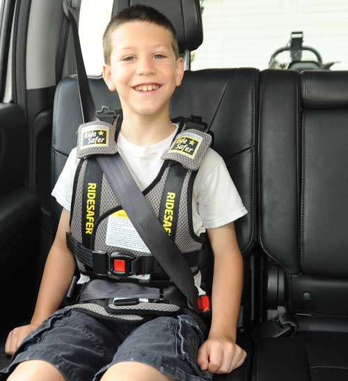 RideSafer travel vest big kid car seat
