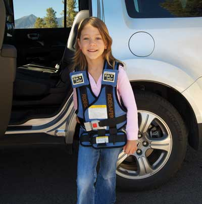 RideSafer car vest